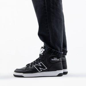 נעליים ניו באלאנס לגברים New Balance BB480 - שחור/לבן