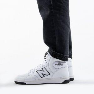 נעליים ניו באלאנס לגברים New Balance BB480 - לבן