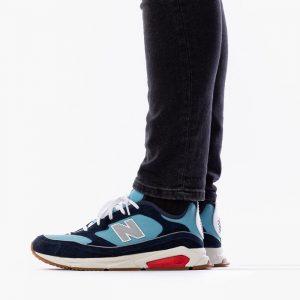 נעלי סניקרס ניו באלאנס לגברים New Balance Balance X-Racer - כחול