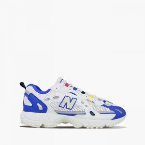 נעלי סניקרס ניו באלאנס לגברים New Balance ML827 - לבן/ כחול