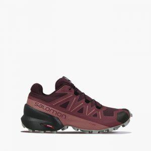 נעלי ריצת שטח סלומון לנשים Salomon Speedcross 5 - בורדו
