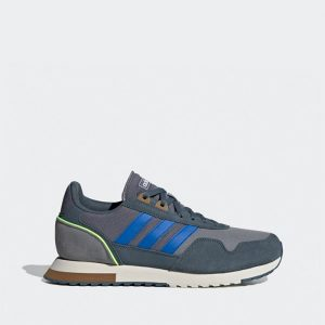 נעלי סניקרס אדידס לגברים Adidas 8K 2020 - אפור/כחול