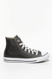 נעלי סניקרס קונברס לנשים Converse CHUCK TAYLOR ALL STAR LEATHER - שחור מבריק