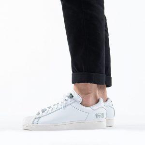 נעלי סניקרס אדידס לגברים Adidas Originals Superstar Pure - לבן
