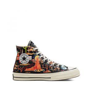 נעליים קונברס לגברים Converse Twisted Resort Chuck 70 High Top - צבעוני