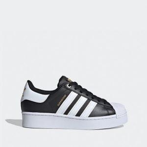 נעלי סניקרס אדידס לנשים Adidas Originals Superstar Bold - שחור/לבן