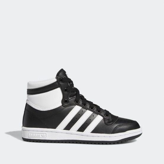 נעלי סניקרס אדידס לנשים Adidas Originals Top Ten - שחור/לבן