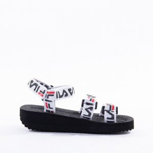 נעליים פילה לנשים Fila Tomaia Sandal - שחור/כתום