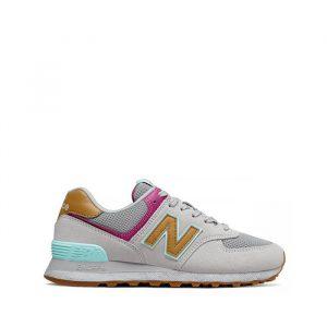נעליים ניו באלאנס לנשים New Balance WT574 - אפור
