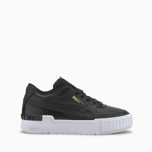 נעלי סניקרס פומה לנשים PUMA Cali Sport Mix Wns - לבן/שחור