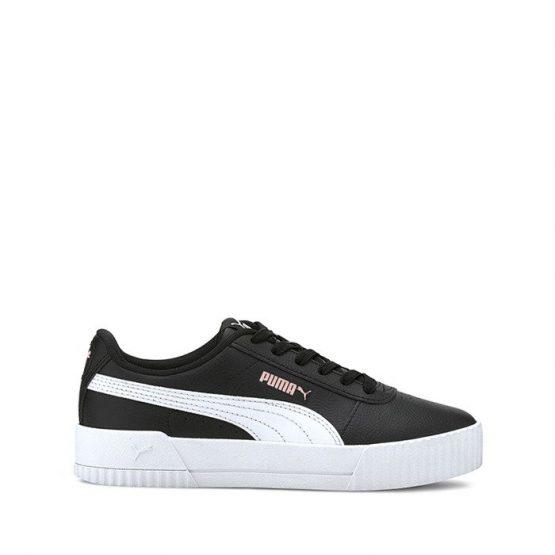 נעלי סניקרס פומה לנשים PUMA Carina Lift - לבן/שחור