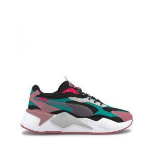 נעליים פומה לנשים PUMA RS-X3 City Attack - צבעוני כהה