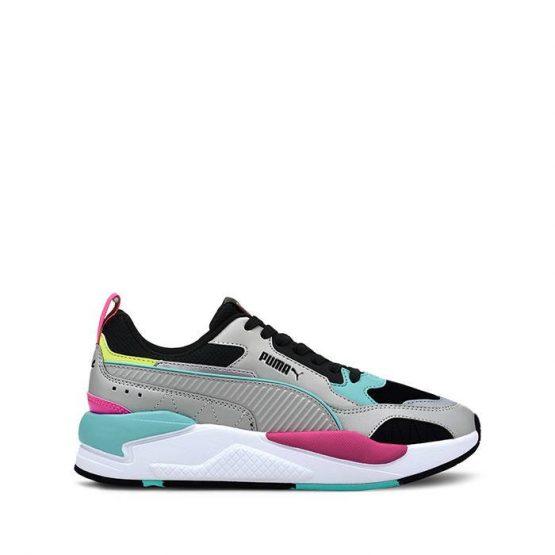 נעלי סניקרס פומה לנשים PUMA X-Ray 2 Square - אפור