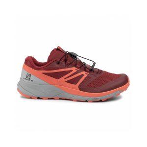 נעליים סלומון לגברים Salomon sense ride 2 - אפור/אדום