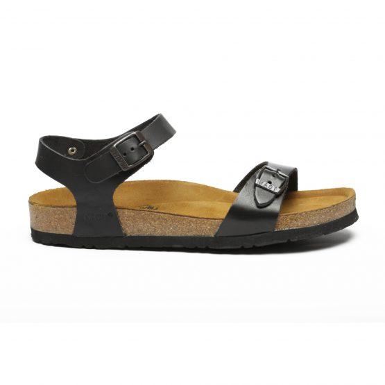 סנדלים טבע נאות לנשים Teva naot ORTAL - שחור