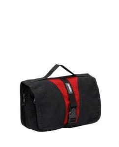תיקי רחצה אווטדור לגברים Outdoor Bath bag - שחור/אדום