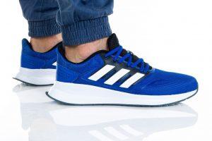 נעליים אדידס לגברים Adidas RUNFALCON - כחול/לבן