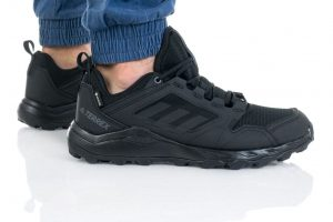 נעלי ריצת שטח אדידס לגברים Adidas TERREX AGRAVIC TR GTX - שחור מלא