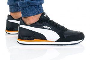 נעליים פומה לגברים PUMA ST RUNNER V2 NL - שחור/צהוב