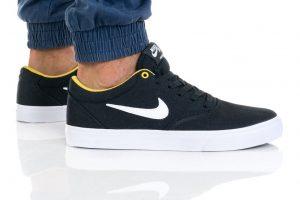 נעליים נייק לגברים Nike SB CHARGE SLR - שחור/צהוב