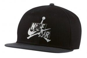 ביגוד נייק לגברים Nike JORDAN PRO CAP JM CLCS - שחור