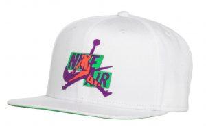 ביגוד נייק לגברים Nike JORDAN PRO CAP JM - לבן