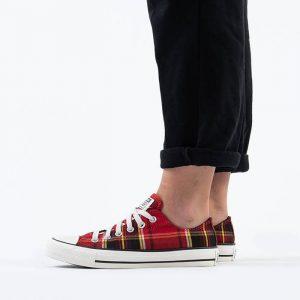 נעליים קונברס לנשים Converse CHUCK TAYLOR ALL STAR OX - אדום