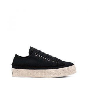 נעליים קונברס לנשים Converse Chuck Taylor As Espadrille - שחור
