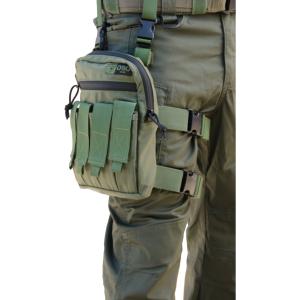 אביזרים אוסו-גיר לגברים OSO-GEAR Shock Grenades Thigh Rig - ירוק