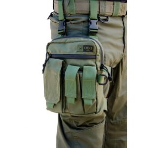 אביזרים אוסו-גיר לגברים OSO-GEAR Tactical Thigh Rig - ירוק