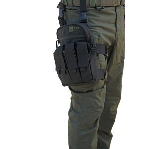 אביזרים אוסו-גיר לגברים OSO-GEAR Shock Grenades Thigh Rig - שחור