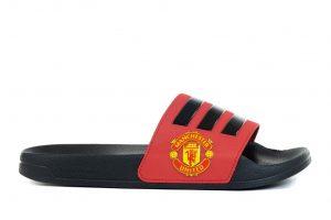 נעליים אדידס לגברים Adidas ADILETTE SHOWER - שחור/אדום