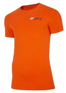 חולצת T פור אף לגברים 4F H4L20 TSM030 - כתום