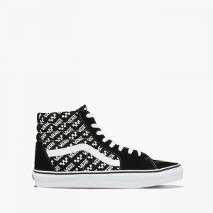 נעליים ואנס לגברים Vans Sk8-Hi - שחור/לבן
