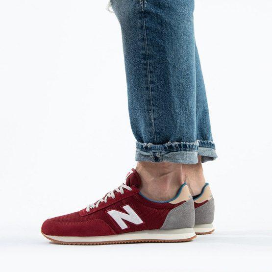 נעלי סניקרס ניו באלאנס לגברים New Balance UL720 - אדום יין