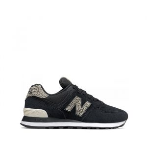 נעלי סניקרס ניו באלאנס לנשים New Balance WL574 - שחור הדפס