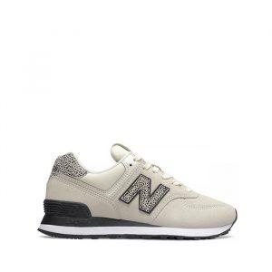 נעליים ניו באלאנס לנשים New Balance WL574 - צבעוני/לבן