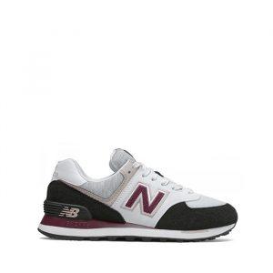 נעליים ניו באלאנס לנשים New Balance WL574 - לבן/סגול