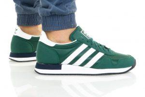 נעלי סניקרס אדידס לגברים Adidas Originals USA 84 - ירוק