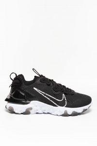 נעלי סניקרס נייק לגברים Nike REACT VISION - שחור/לבן