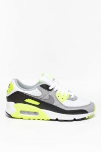 נעלי סניקרס נייק לנשים Nike Air Max 90 - אפור/צהוב