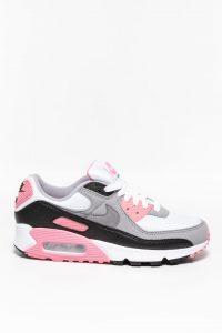 נעלי סניקרס נייק לנשים Nike Air Max 90 - אפור/ורוד