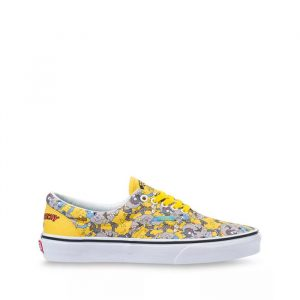 נעליים ואנס לגברים Vans THE SIMPSONS X ITCHY  SCRATCHY ERA - צבעוני/לבן