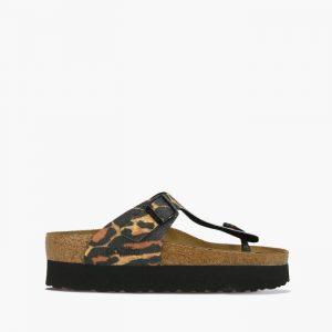 נעליים בירקנשטוק לנשים Birkenstock Papillio Gizeh - מנומר