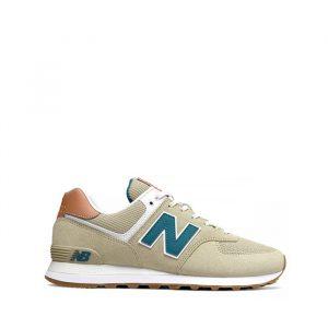 נעליים ניו באלאנס לגברים New Balance ML574 - תכלת