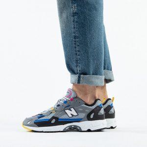 נעליים ניו באלאנס לגברים New Balance ML827 - צבעוני כהה