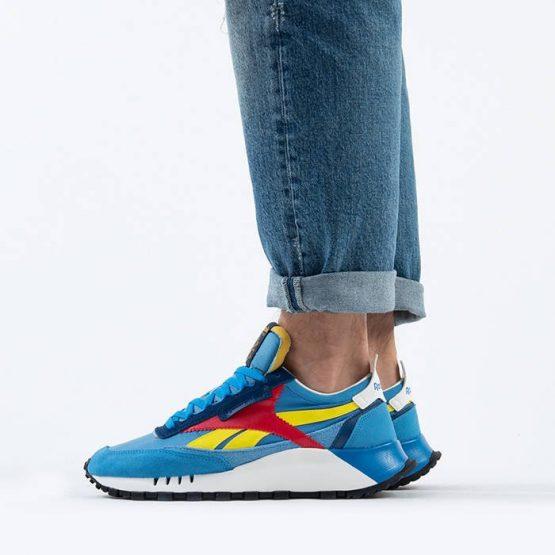 נעלי סניקרס ריבוק לגברים Reebok Classic Legacy - כחול