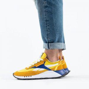 נעלי סניקרס ריבוק לגברים Reebok Classic Legacy - צהוב