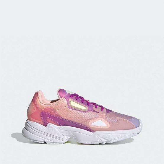 נעלי סניקרס אדידס לנשים Adidas Falcon - ורוד בזוקה