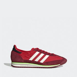 נעלי סניקרס אדידס לגברים Adidas SL 72 - אדום